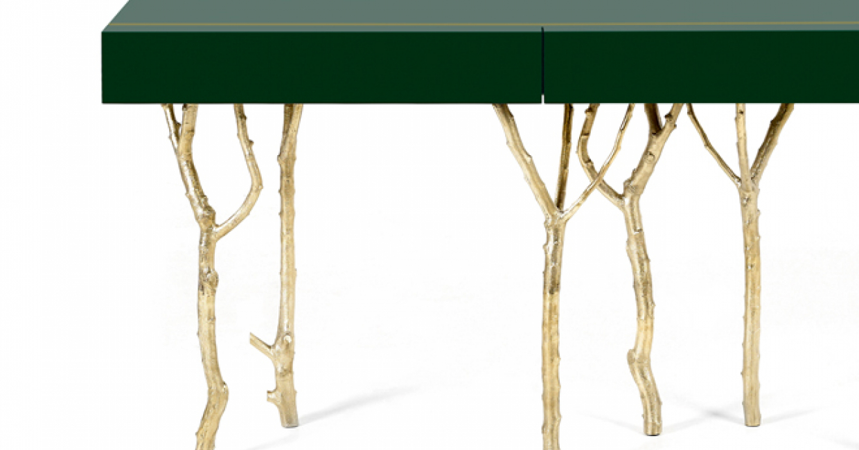 Fig Tree Console Table by Ginger & Jagger