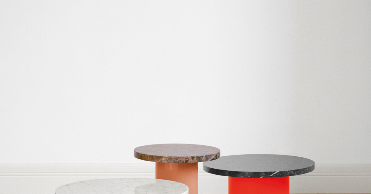 Enoki side tables by e15