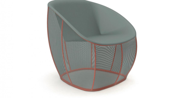 Membrane armchair by Benjamin Hubert for ClassicCon