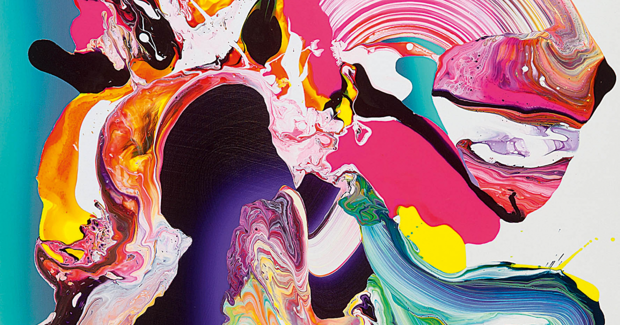 KL30 by Yago Hortal, reflecting the bold colour clashes of Generate Collision!
