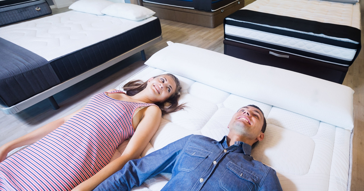 The ability to try before you buy makes in-store retail a popular choice for bed shoppers