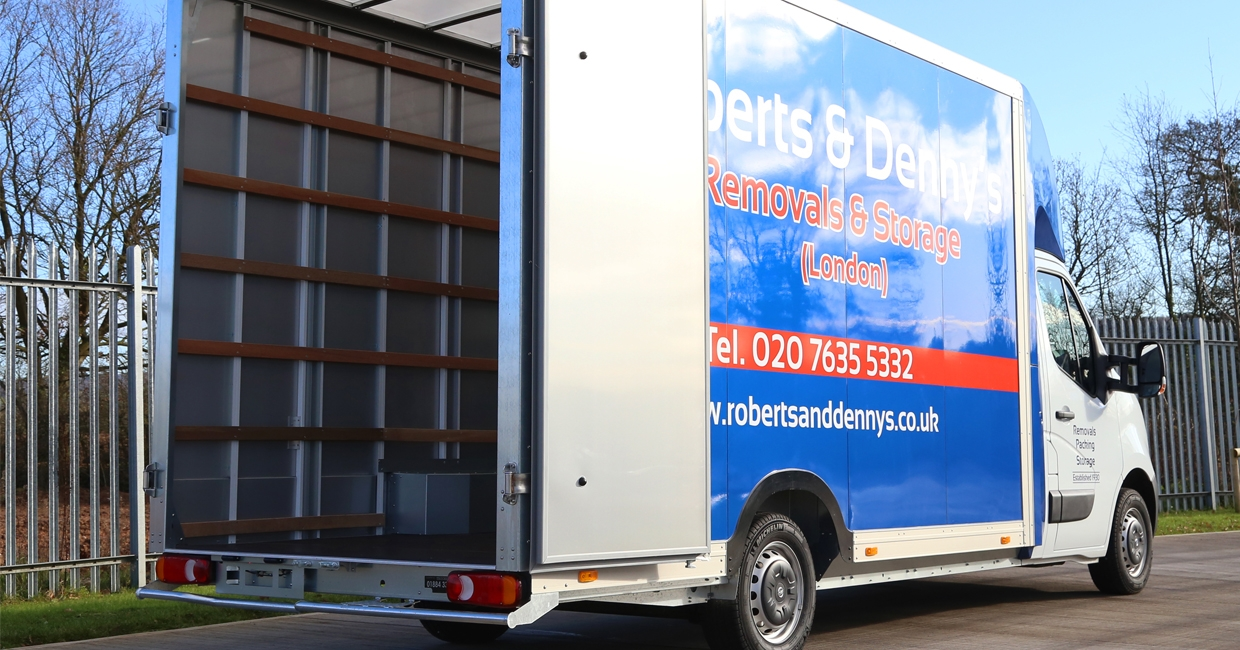 """Roberts and Denny's Removals and Storage London describes the LoLoader Safety Pack option as """"a real must"""""""