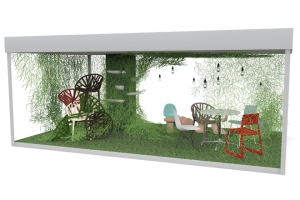 Design Museum London and Vitra create pop-up garden