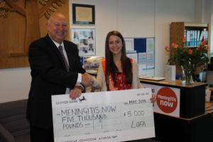 LOFA makes charity donations