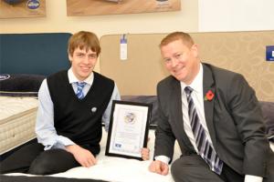 Sleep Council's first sales academy graduate