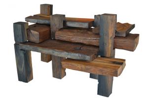 In Design: James reclaimed timber coffee table, Katryn Furmston