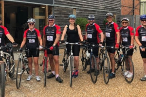 January show and Furniture News sponsor Gallery cycle ride