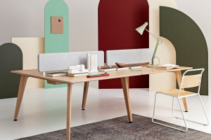 In Design: Cameron Fry'sTheodore Bench-Desk System