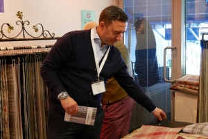New exhibitors join fabric show