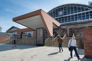Manchester show venue designated an emergency hospital