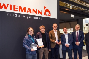 Wiemann scores hat-trick industry award