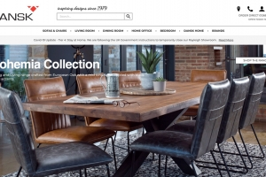 Iconography helps unlock Dansk's online potential
