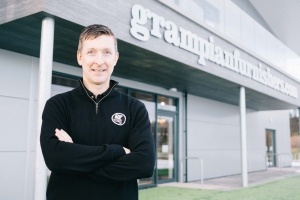 Grampian Furnishers' Royce Clark on 2020/21