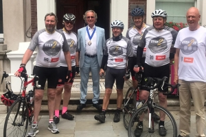 Charity cyclistsraise £12,000for Step 2 It campaign