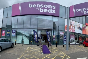 Bensons relocates to new Farnborough store