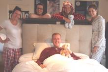 Land of Beds' Mike Murray – sleeping on the job