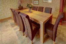 Solid American oak cabinet range, TCS