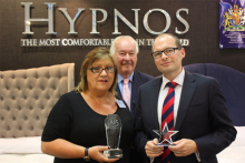 Hypnos named AIS Bed Supplier of the Year