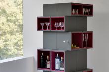 In Design: Cubrick cabinet, Yard Sale Project