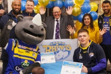 Shire launches exclusive Leeds Rhinos model