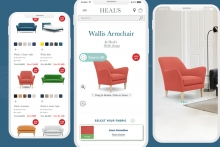 Heal's pioneers app-less AR with Cylindo