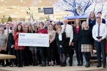 Glasswells charity quiz raises £1140
