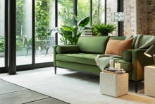 Record sales, investment and new delivery service for boxed sofa brand