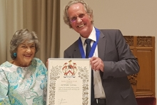 Livery company recognises pioneering member