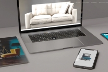 Furniture CGI specialist launches new website