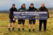 Bensons team completes Three Peaks Challenge
