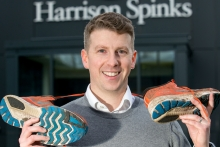 Commercial director tacklesmarathon for industry charity